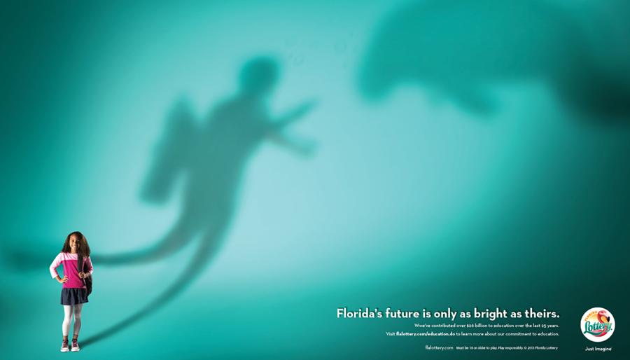 Florida Lottery Print - Ben Wallis